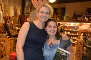 Our Art teacher Meg Peck got a chance to meet Elizabeth Gilbert, author of Eat, Pray, Love!